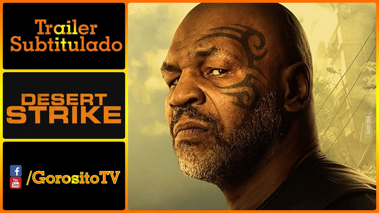Download PHARAOH'S WAR Trailer Subtitulado al Español - Hamlet Pheroun / Mike Tyson / Desert Strike