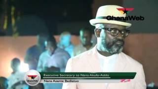 How good a singer is Akufo-Addo's Executive Secretary, Nana Asante Bediatuo?