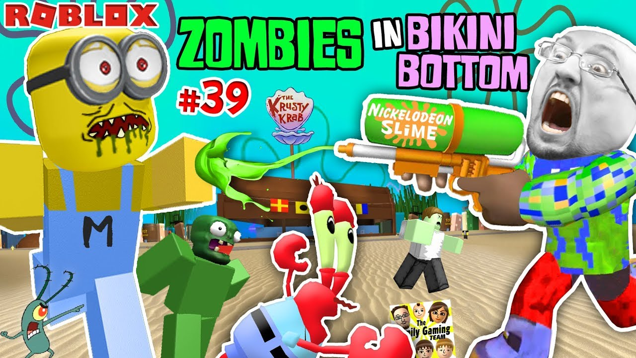 Roblox Spongebob Squarepants Land Of Terror Zombieskini Bottom