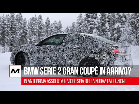 BMW Serie 2 Gran Coupé in arrivo: il video spia dell'anti-CLA