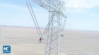 Record-breaking! China completes construction of new ultra-high voltage power link