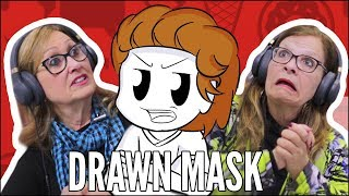 IDOSOS REAGEM A DRAWN MASK
