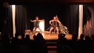 Boom Dee Brides perform Stuff dust @ WildAwake 2014