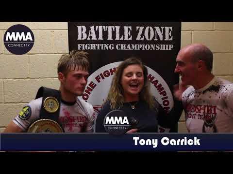 BattleZone FC 17 - Ryoshin MMA's Matiss Zaharovs & Coach Tony Carrick