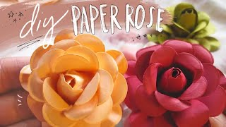 Repeat youtube video Paper Rose Tutorial!!