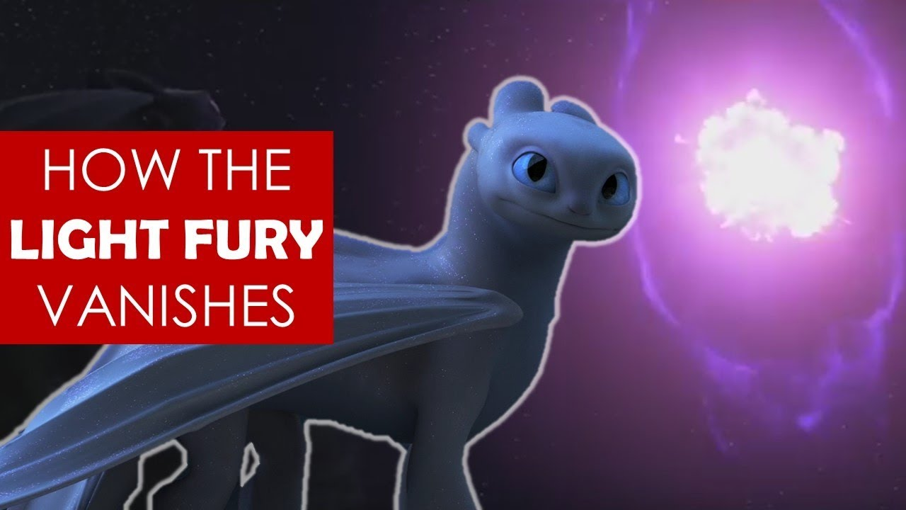 How the Light Fury vanishes? EXPLAINED [ How to Train Your Dragon 3 l Toothless l lore ]
