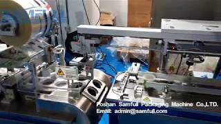 2019 Automatic Plasticine Play Dough Packaging Machine With 2 Labelling Machine Production Line