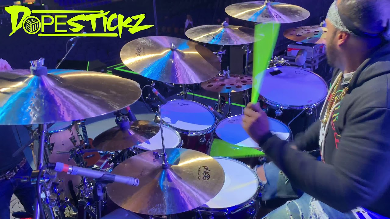 Eric Moore Drummers of Planet Earth ? DopeStickz  Warm Up