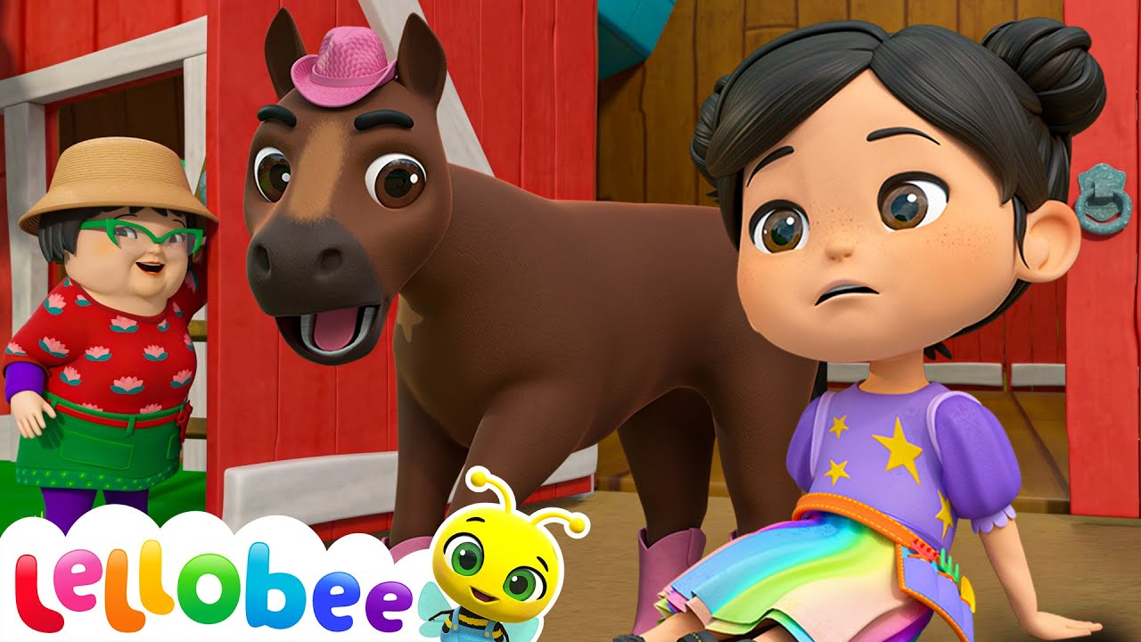 Accidents Happen - Boo Boo Song! | @Lellobee City Farm - Cartoons & Kids Songs | Learning Videos