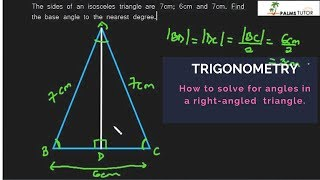 Solving triangles: Example 1