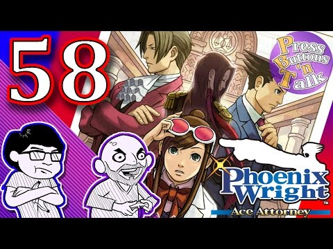 Phoenix Wright: Ace Attorney, Ep. 58: New Voices - Press Buttons 'n Talk