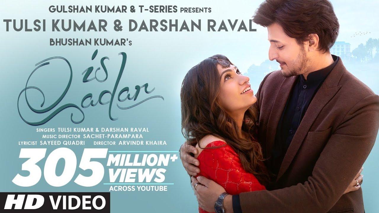 Download Is Qadar (Official Video) Tulsi Kumar, Darshan Raval | Sachet-Parampara | Sayeed Quadri | Arvindr K