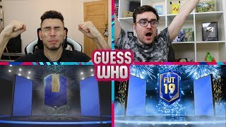 OMG WE FINALLY GOT ONE EPIC TOTS GUESS WHO FIFA vs AJ3 (TOTS GUESS WHO)
