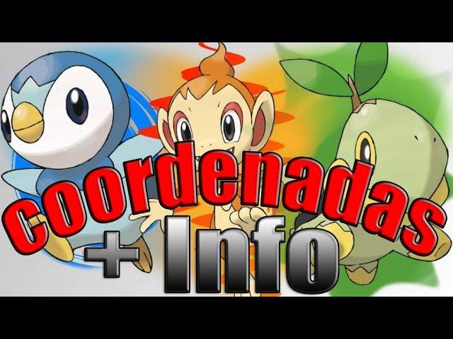 POKEMON GO COORDENADAS 4 GENERACION LA MEJOR INFO +  #Djkire #hack #Pokemongo #1