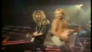 Def Leppard - In The Round In Your Face (1988 Live Show)