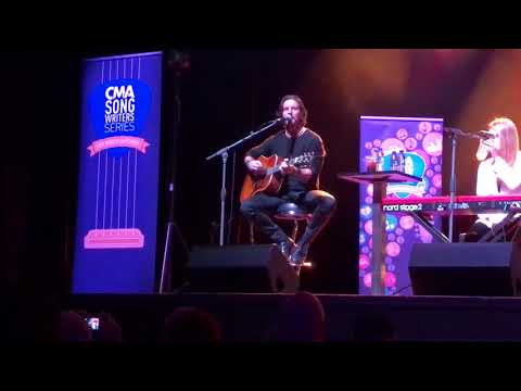 Brett James, Out Last Night, CMA Songwriters Session, London 2018