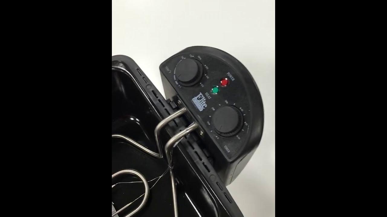 Elite Platinum Deep Fryer - Safety Switch