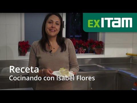 Cocinando con Isabel Flores, Coordinadora Acade?mica de la Licenciatura en Relaciones Internacionale
