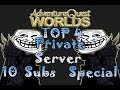 "=AQW=""Top 4 AQW Private Server Non-Hamachi(10 Subs Special)"""