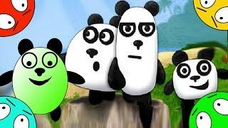 🐾 Четыре панды #1! Побег от пиратов! Мультик Игра. Мультфильм для малышей