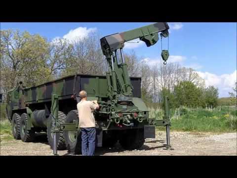 M985 Oshkosh Corp HEMTT with Winch C-200-104