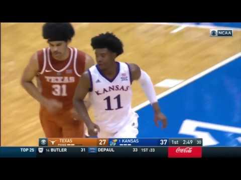 Texas at Kansas | 2016-17 Big 12 Men