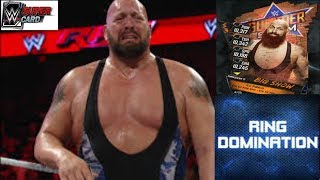 RING DOMINATION !!BIG SHOW!PRO SS '17!WWE SUPERCARD!!) НА РУССКОМ)