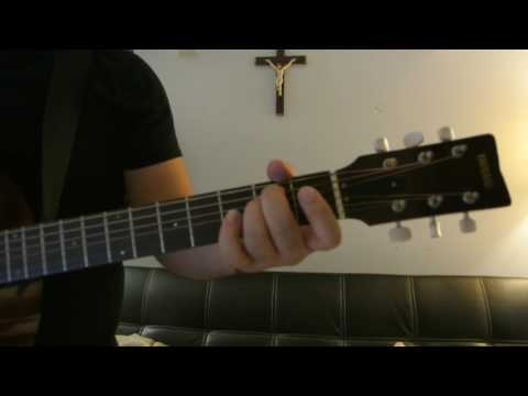 """Calvin Harris - """"How Deep Is Your Love"""" How to Play Guitar (Easy!! Guitar Tutorial!!)"""