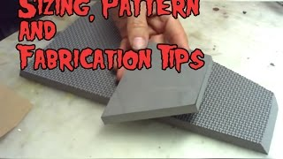 Evil Ted Talks: Foam Sizing, Pattern & Fabrication Tips