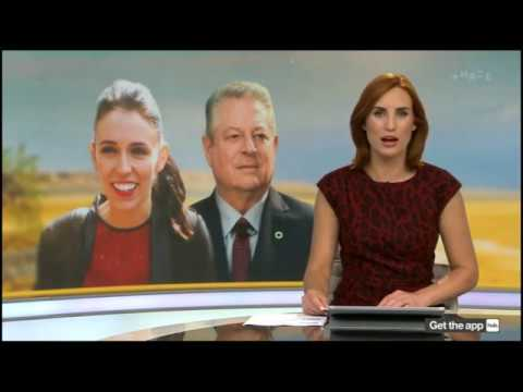 NZ Prime Minister Jacinda Ardern talks to Al Gore about climate in the Pacific | Newshub