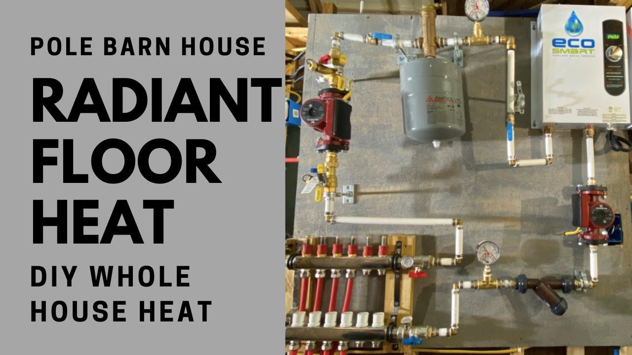 Diy Radiant Floor Heat Install And