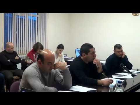 Բյուրեղավան համայնքի ավագանու նիստ, 1, 12.12.19