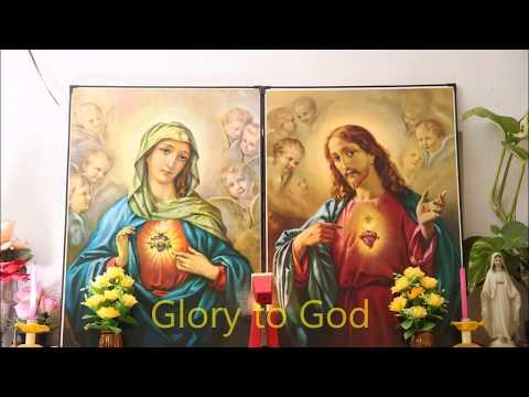 Glory to God Glory to God Glory to the father