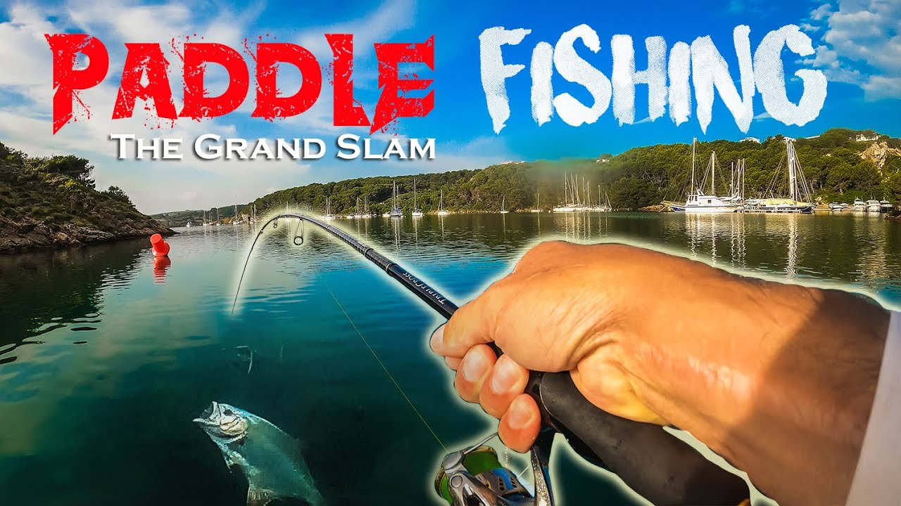 PEZ al PRIMER LANCE ⭐ [Pesca ROCKFISHING desde PADDLE SURF] 𝙏𝙝𝙚 𝙂𝙧𝙖𝙣𝙙 𝙎𝙡𝙖𝙢 #𝟑 | Lured Vlog 144