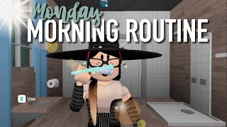 MONDAY MORNING ROUTINE | Roblox Bloxburg | Arabellaa