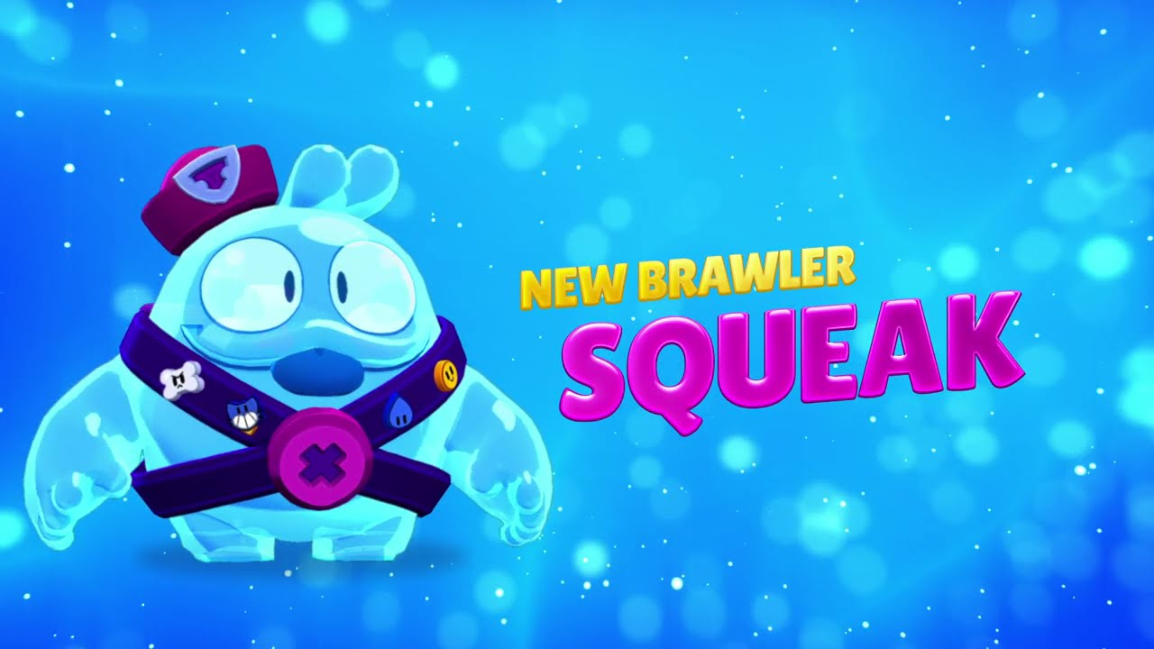 Brawl Stars: Meet Squeak! - Brawler Spotlight