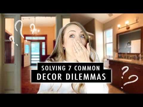 Solving 7 COMMON Decor Dilemmas (paint, furniture layout, where to start & more) EP.1 | XO, MaCenna