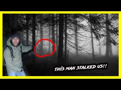 ATTACKED IN A HAUNTED FOREST