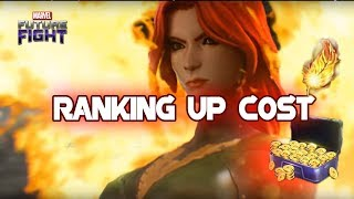 Jean Grey Ranking Up Gold and Material - MARVEL Future Fight
