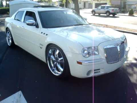 My Custom Dubbed Out Chrysler 300c 22 Quot S Lowered Dvds