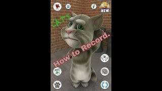 How to record talking tom