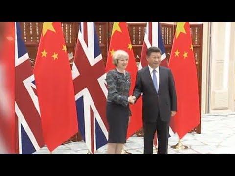 Preview of Theresa May's China visit