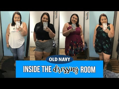 PLUS SIZE | INSIDE THE DRESSING ROOM | OLD NAVY | Collab with The Self Love Mom