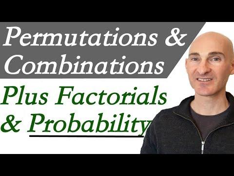 Permutations Combinations Factorials & Probability