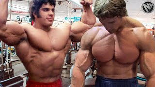 ARNOLD SCHWARZENEGGER VS LOU FERRIGNO MOTIVATION - OLDSCHOOL BODYBUILDING RIVALRY
