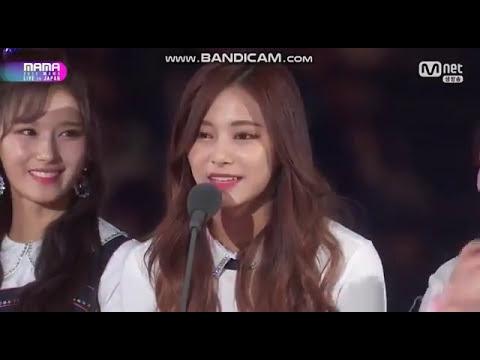 171129 TWICE(트와이스) Song of the Year @MAMA 2017