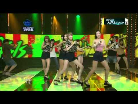 [LIVE HD][110804]_ Brave Girls - Easily @ M! Countdown.avi
