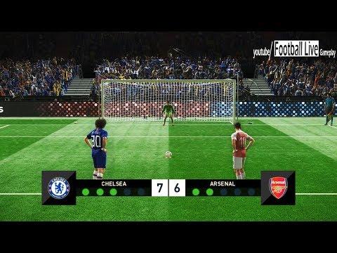 PES 2019 | Chelsea vs Arsenal | Penalty Shootout | Final UEFA Europa League (UEL) | Gameplay PC