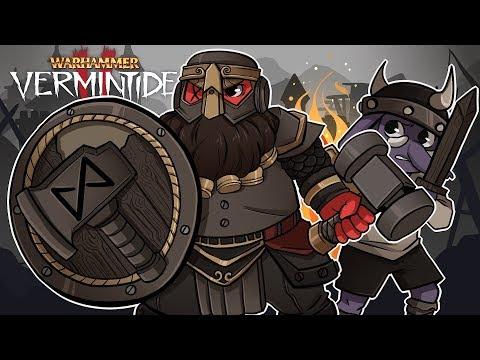 PROTECTING BABY RILLA!  Warhammer: Vermintide 2 w Gorillaphent