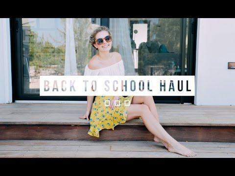 BACK TO SCHOOL CLOTHING HAUL! | Aspyn Ovard